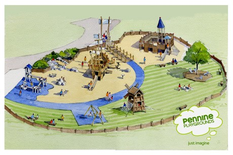 Playground design in house playground design specialists for Design your own playground online