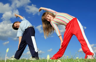 exercise benefit schildren